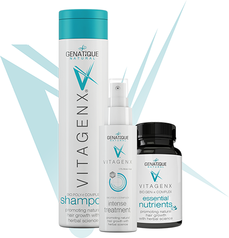 vitagenx shampoo intense treatment and essential nutrients packs
