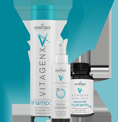 vitagenx shampoo intense treatment and essential nutrients packs